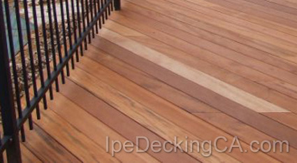 California Tigerwood Decking